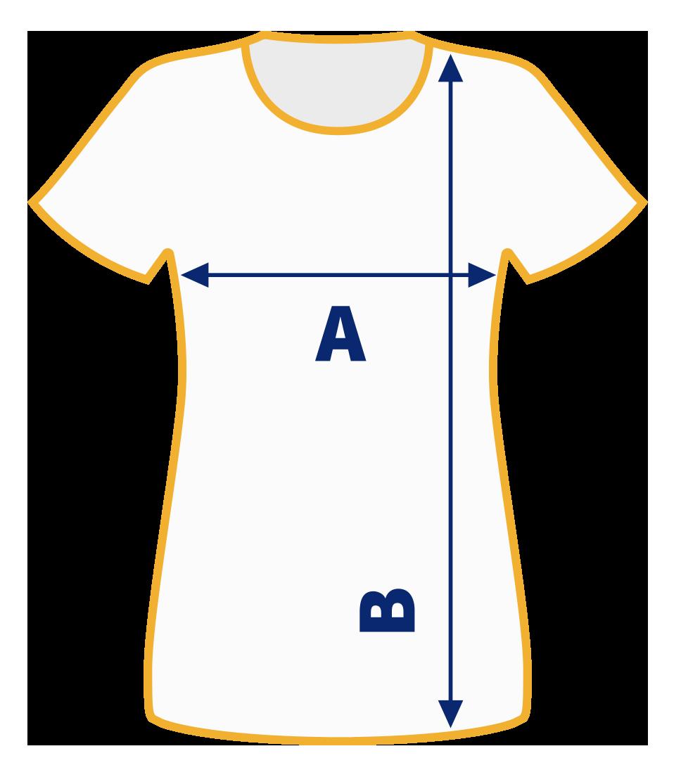 Rara Avis Store - Women T-Shirt Size Chart
