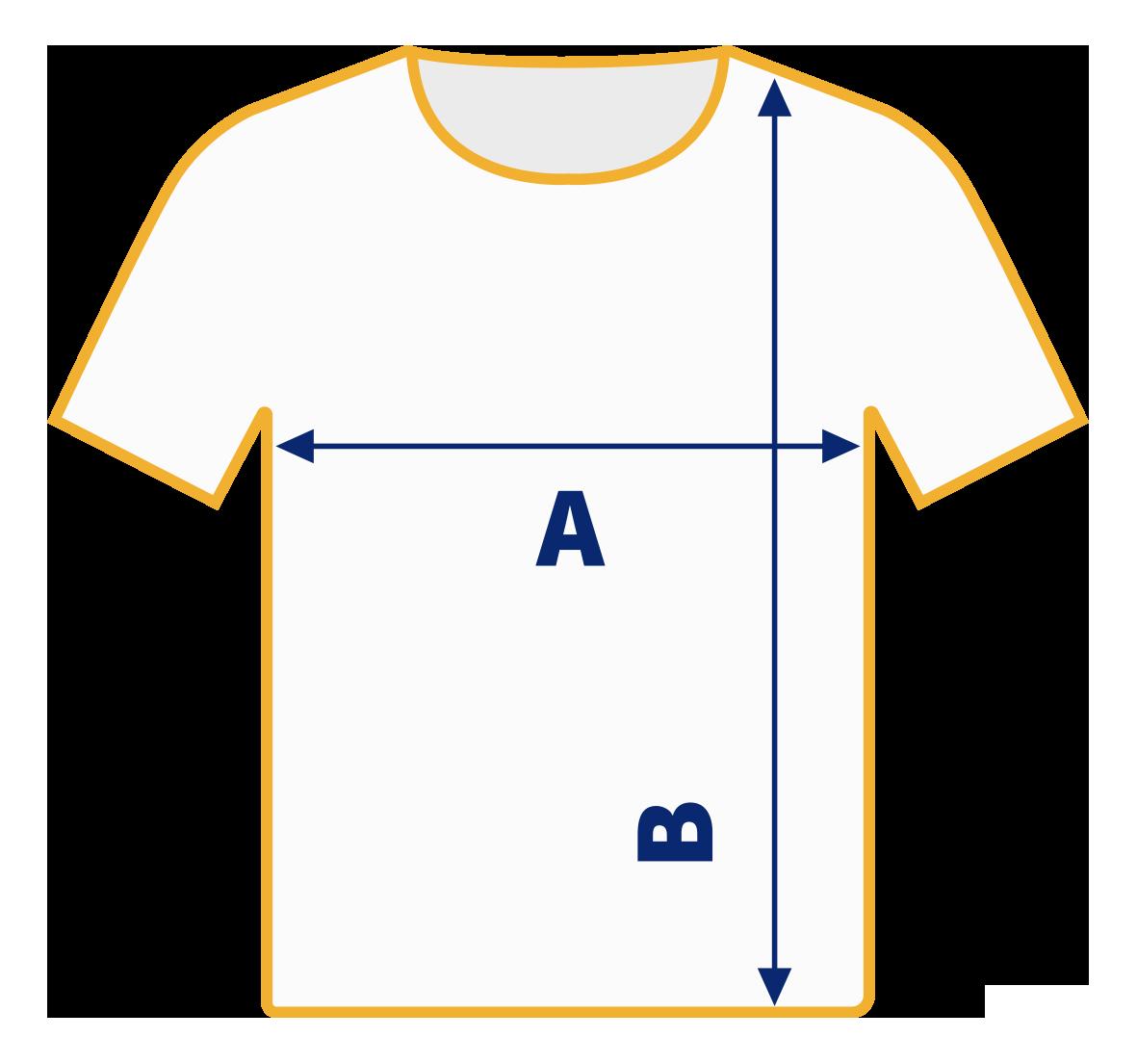 Rara Avis Store - Men T-Shirt Size Chart