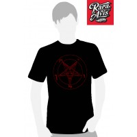 BAPHOMET RED LOGO