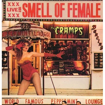 THE CRAMPS - A DATE WITH ELVIS LP