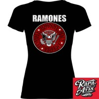 RAMONES - RED SHIELD