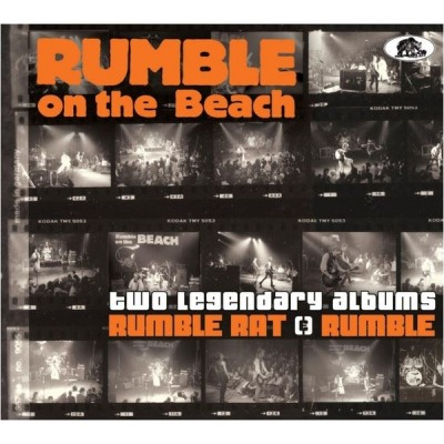 RUMBLE ON THE BEACH - TWO LEGENDARY ALBUMS (RUMBLE RAT + RUMBLE) DIGIBOOK bear family