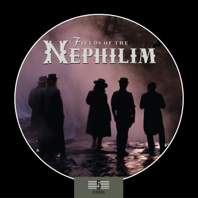 FIELDS OF THE NEPHILIM - 5 ALBUMS BOX SET [LIMITED] 5CD