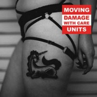 MOVING UNITS - DAMAGE WITH CARE CD