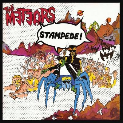 THE METEORS STAMPEDE [LIMITED] LP let them eat vinyl