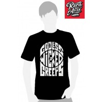 GODLESS WICKED CREEPS - VINTAGE LOGO