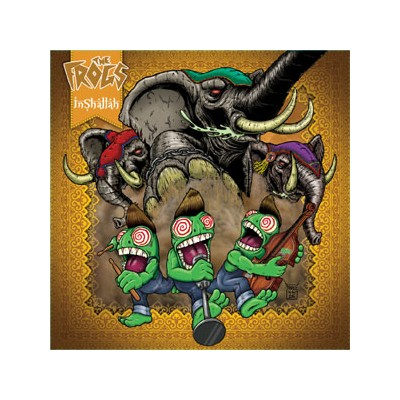 THE FROGS - INSHALLAH LP + CD