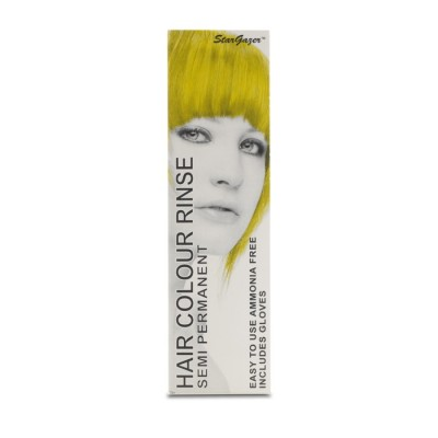 SEMI PERMANENT HAIR DYE - YELLOW