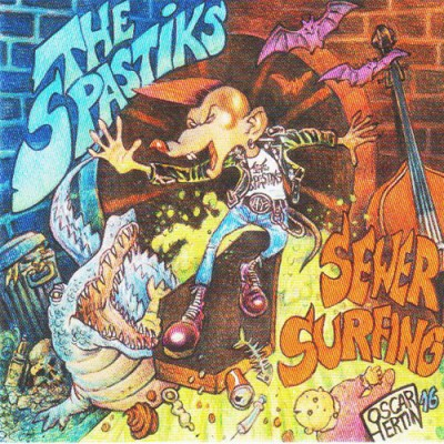 THE SPASTIKS - SEWER SURFING CD