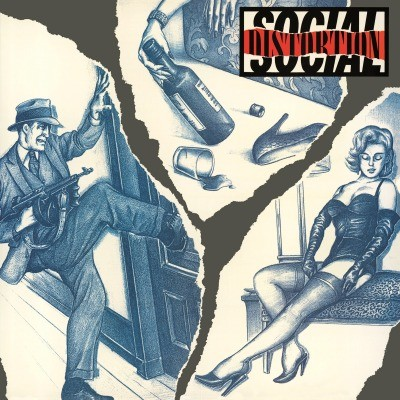 SOCIAL DISTORTION - SOCIAL DISTORTION LP