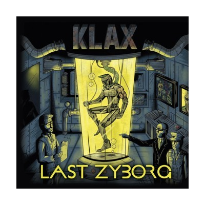 KLAX - LAST OF ZYBORG LP