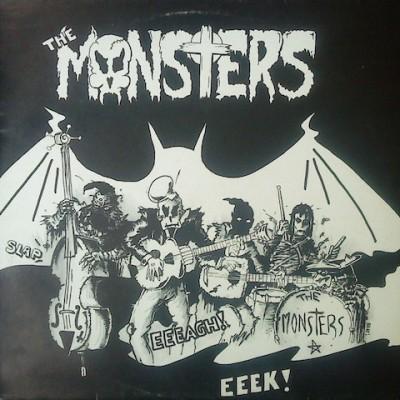 THE MONSTERS - MASKS LP + CD