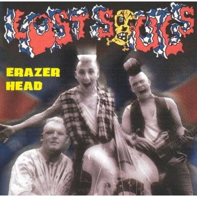 LOST SOULS - ERAZER HEAD CD