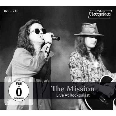 THE MISSION - LIVE AT ROCKPALAST 2CD+DVDBOX