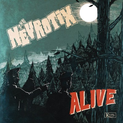 THE NEVROTIX - ALIVE LP