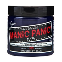 SEMI PERMANENT HAIR DYE - SHOCKING BLUE