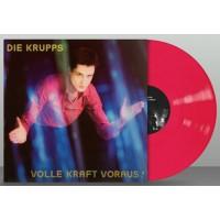 DIE KRUPPS - VOLLE KRAFT VORAUS! [PINK] LP