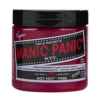 SEMI PERMANENT HAIR DYE - HOT HOT PINK