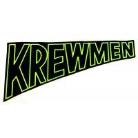 """KREWMEN - ESPALDERA """"GREEN LOGO"""""""