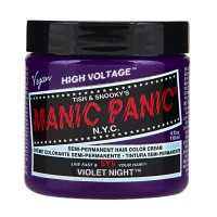 SEMI PERMANENT HAIR DYE - VIOLET NIGHT