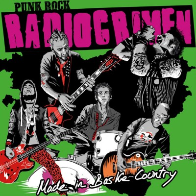 RADIOCRIMEN - MADE IN BASKE COUNTRY [LIMITED] 2LP + CD +DVD