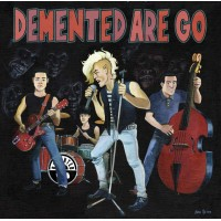 DEMENTED ARE GO - RUBBER ROCK / ONE SHARP KNIFE 7""