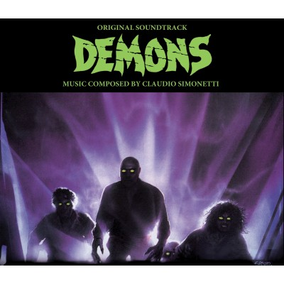 CLAUDIO SIMONETTI – DEMONS [1] ORIGINAL SOUNDTRACK & THE SOUNDTRACK REMIXED DIGI2CD