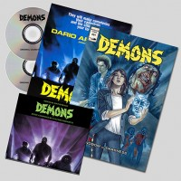 CLAUDIO SIMONETTI – DEMONS [1] O.S.T. & O.S.T. REMIXED DIGI2CD + COMIC BOOK + POSTER