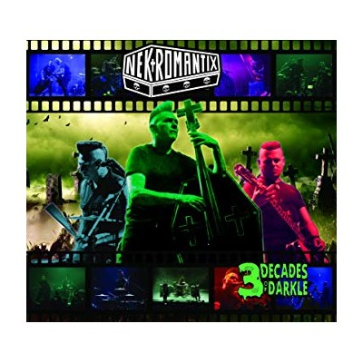 NEKROMANTIX - THREE DECADES OF DARKLE CD+DVD+BLURAY