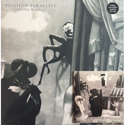 POSITION PARALLÈLE - NEONS BLANCS [LIMITED CLEAR] LP+CD