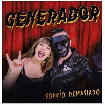 GENERADOR - SONRÍO DEMASIADO LP