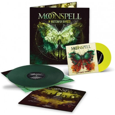MOONSPELL - BUTTERFLY EFFECT [LIMITED] LP + 7""