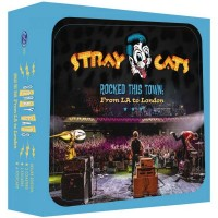 STRAY CATS - ROCKED THIS TOWN: FROM LA TO LONDON [LIMITED] BOXSET