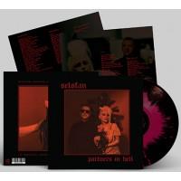 SELOFAN - PARTNERS IN HELL [BLACK WITH FUCHSIA SPLATTERS] LP