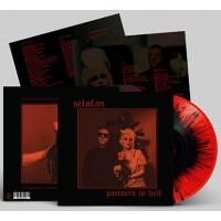 SELOFAN - PARTNERS IN HELL [RED WITH BLACK SPLATTERS] LP