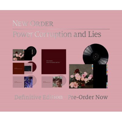 NEW ORDER - POWER, CORRUPTION & LIES [2020 DEFINITIVE EDITION] BOX