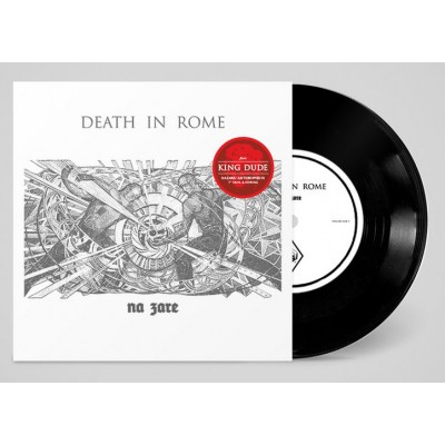 """DEATH IN ROME / KING DUDE - NA ZARE / JUST DROPPED IN [LIMITED] 7"""""""