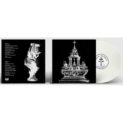 TWIN TRIBES - ALTARS [LIMITED WHITE] LP young & cold records