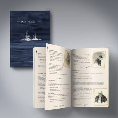 KAUAN - ICE FLEET [+ ROLE PLAYING GAME BOOK] CD+BOOK