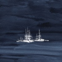 KAUAN - ICE FLEET [DEEP SEA BLUE] LP artoffact