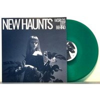 NEW HAUNTS - WORLDS LEFT BEHIND [LIMITED GREEN] LP