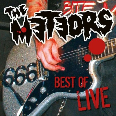 THE METEORS - BEST OF LIVE LP