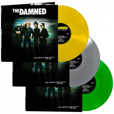 THE DAMNED - PUNK ODDITTIES AND RARE TRACKS [LIMITED] LP