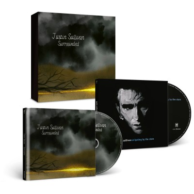 JUSTIN SULLIVAN - SURROUNDED + NAVIGATING BY THE STARS [LIMITED] CD MEDIABOOK earmusic
