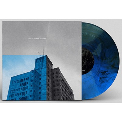 PINDROPS - REFLECTIONS [LIMITED BLUE WITH BLACK] MLP